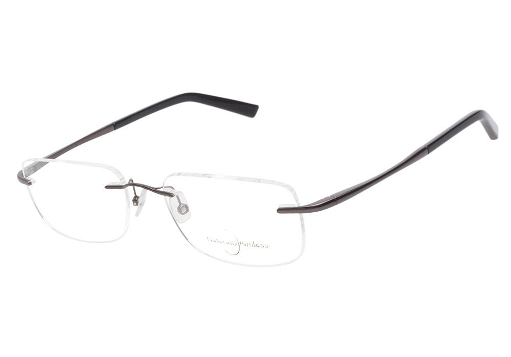 Naturally Rimless 147 Gunmetal eyeglasses. Get low prices, superior ...