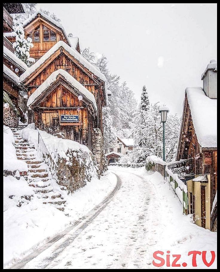 Eine wunderschöne Winterlandschaft mit viel Schnee. Hier kommen Sie rein …   …,  #eine #H…