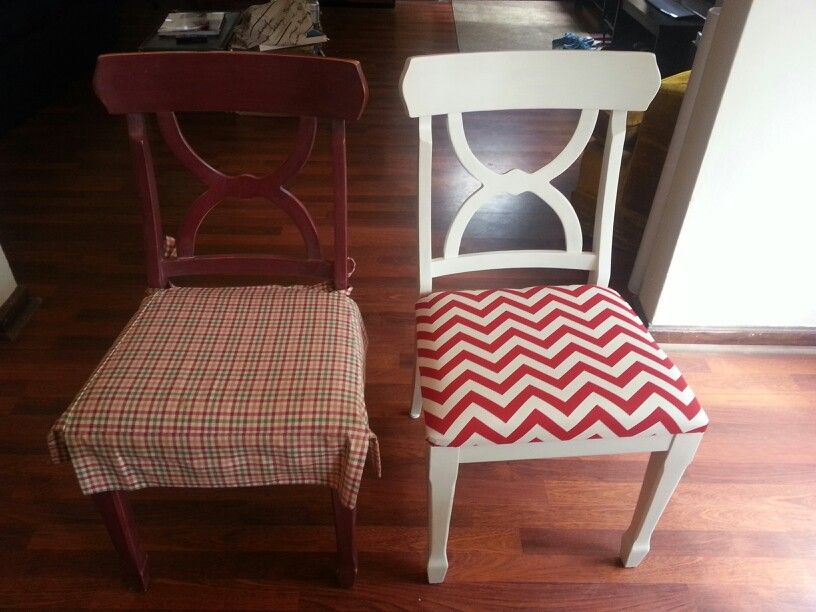 Diy reupholster furniture home decor dining chairs