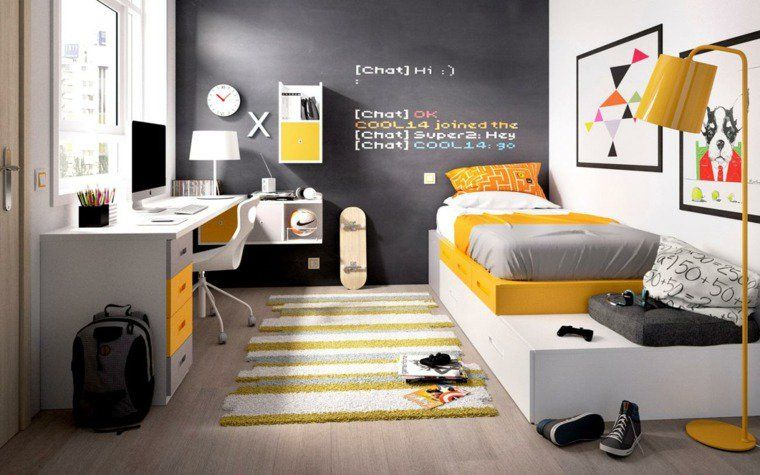 id es d co chambre ado gar on au d l des clich s. Black Bedroom Furniture Sets. Home Design Ideas