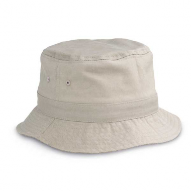 Printed Bucket Hat In Canvas a48f78c9f853