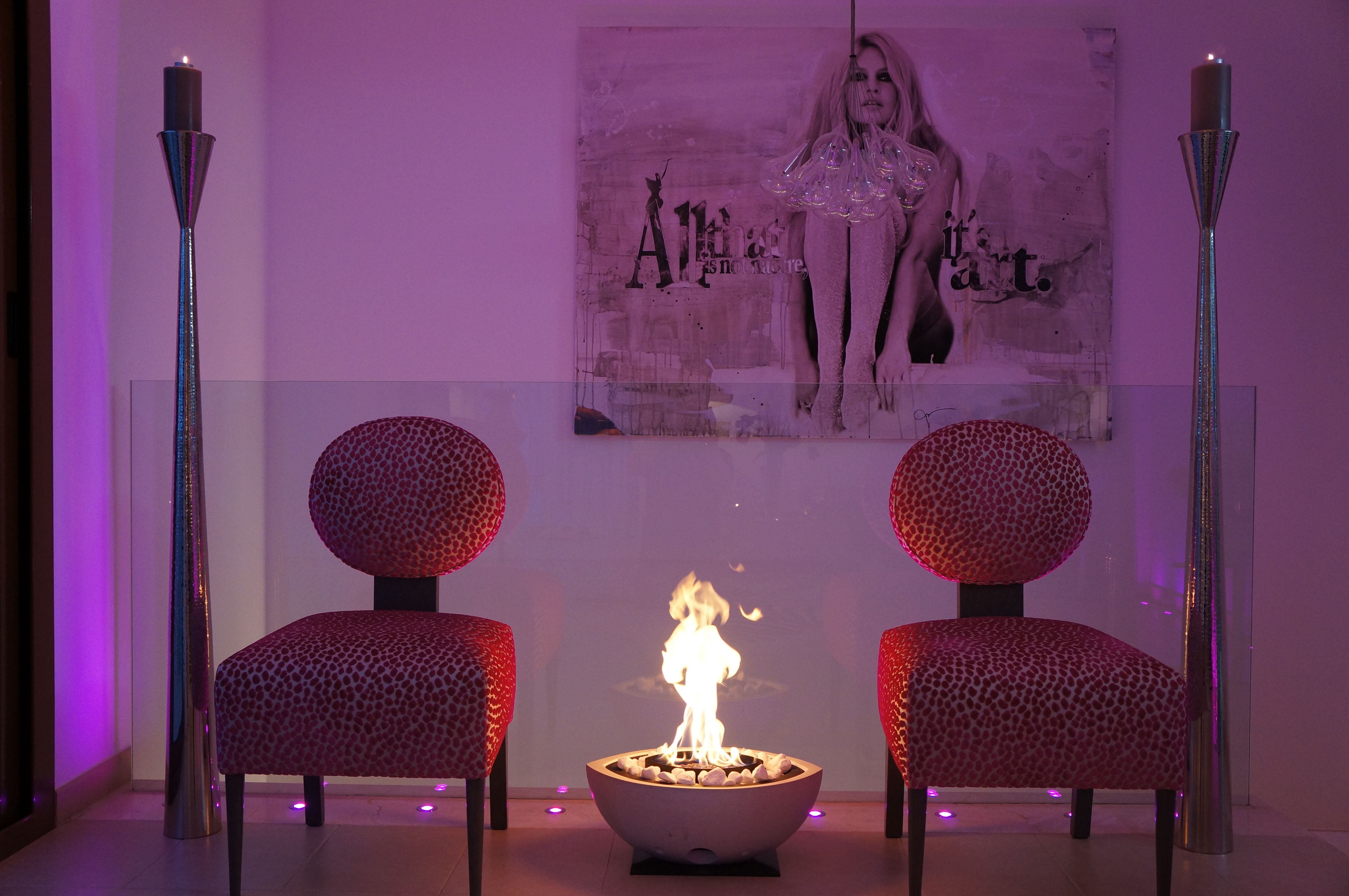 Bespoke Chairs and Lighting with Artwork Designed by Sophie Peckett Design www.sophiepeckettdesign.com