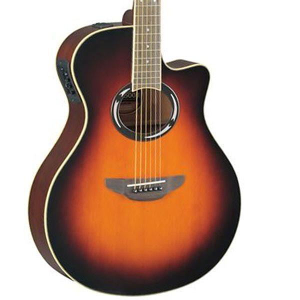 Yamaha Apx500ii Thinline Acoustic Electric Old Violin Sunburst Guitar Electric Violin Violin