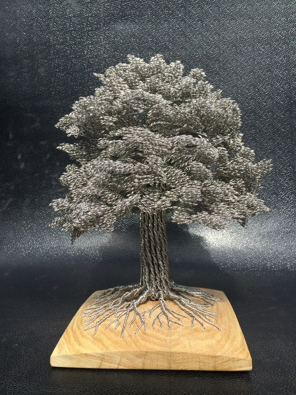WireWood by Clive Maddison - Wire Tree Sculpture