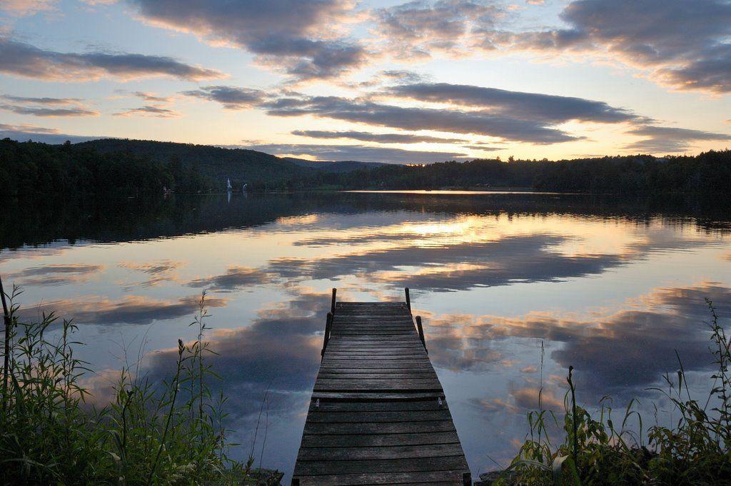 37...Silver Lake, Vermont USA Lake life, Vermont, Lake