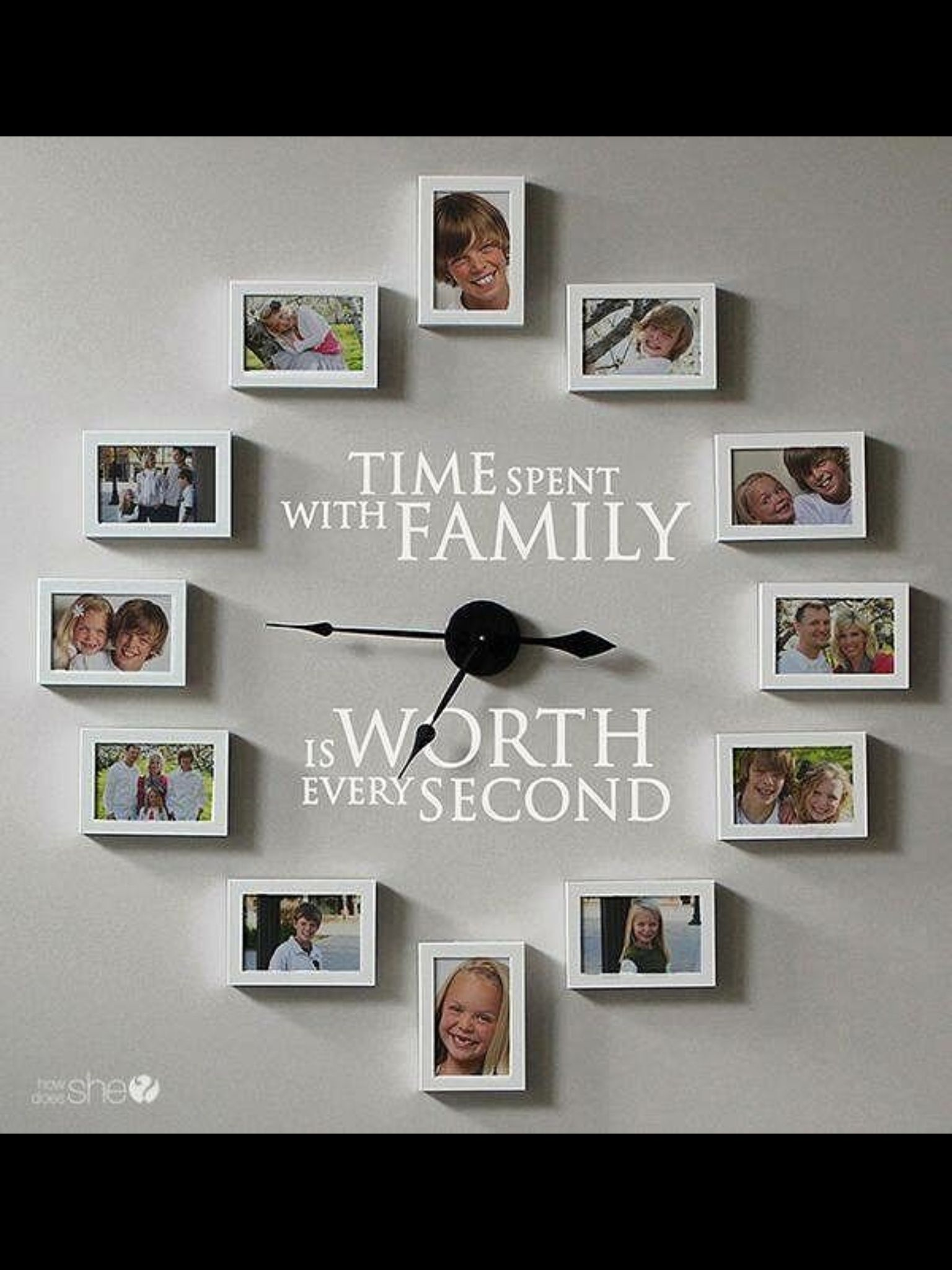 Haz un reloj con tus fotos