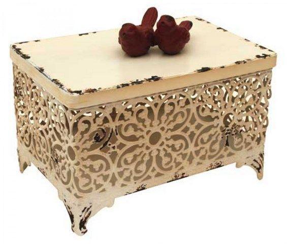 Home Home Decor Decorator Accessories Pajaro White Cool Decorator Boxes