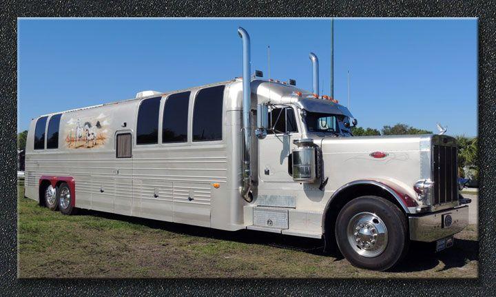 Rare Prevost Peterbuilt Rv Ser 001 For Sale Big Trucks Peterbilt Trucks Big Rig Trucks