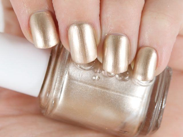 Essie Nail Lacquer in Good As Gold | Nails | Pinterest | Me gustas
