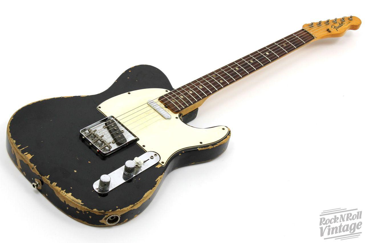 1966 Fender Telecaster Black.jpg