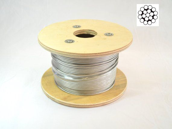 1 8 Cable Railing 316 Stainless Steel Kit 36 Quot 1 8 1 19