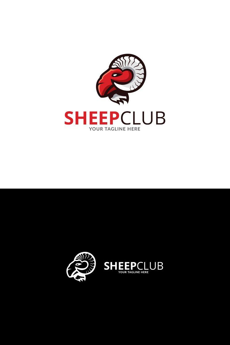 Sheep club design logo template 72141 sheep logo club