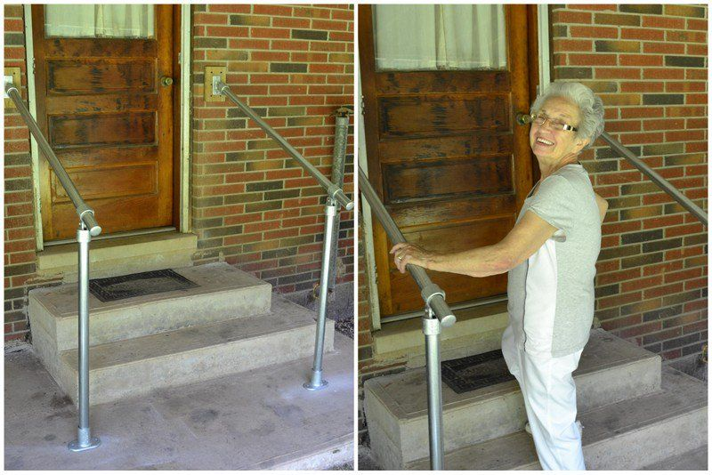 Need To Build A DIY Metal Handrail? These 5 Metal Stair Handrail Kits Are  Easy To Assemble And Install. Learn How Our Customers Made Their Stairs  Safe With ...