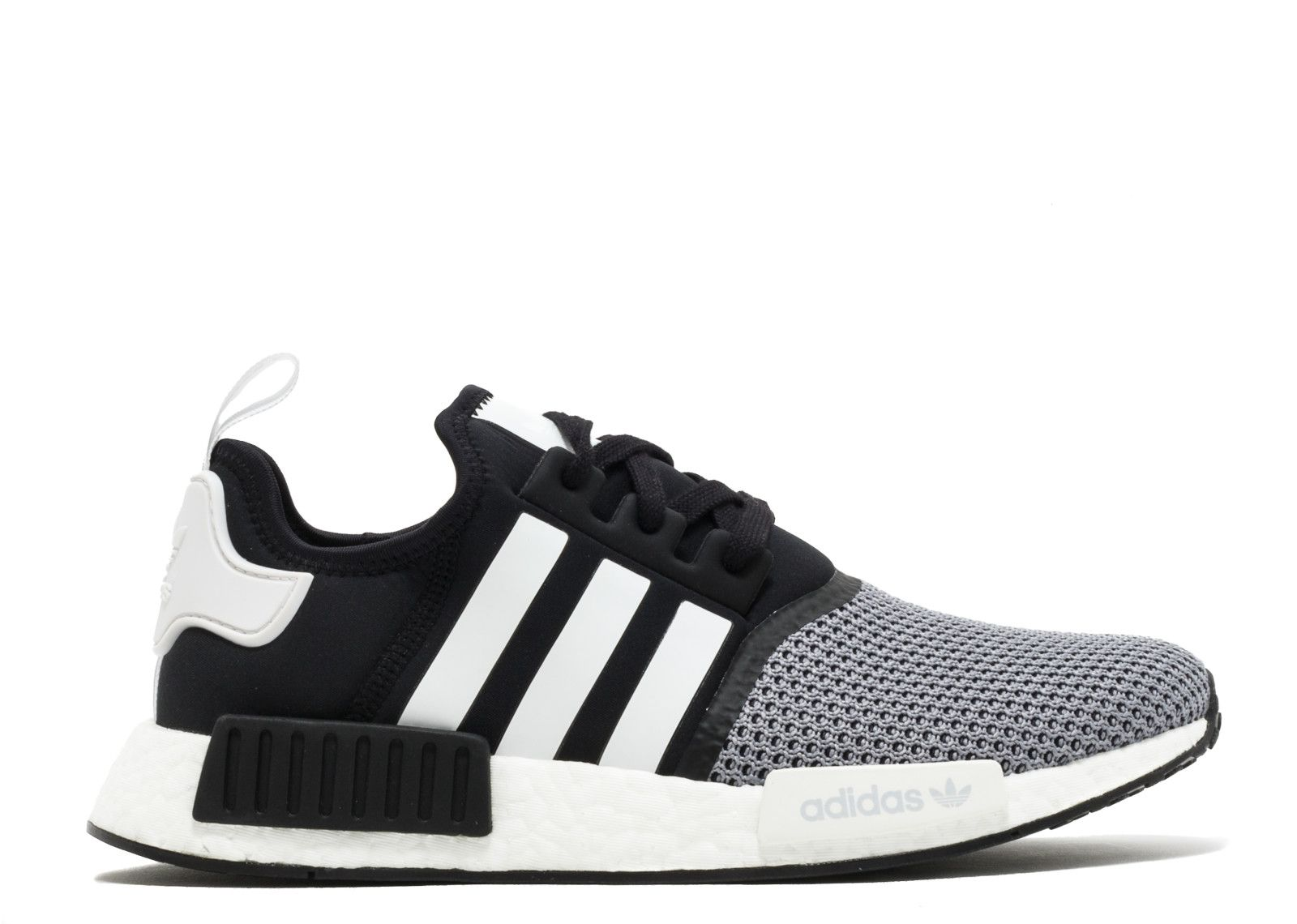 20172018 New Arrival NMD R1 JD SPORTS black grey white