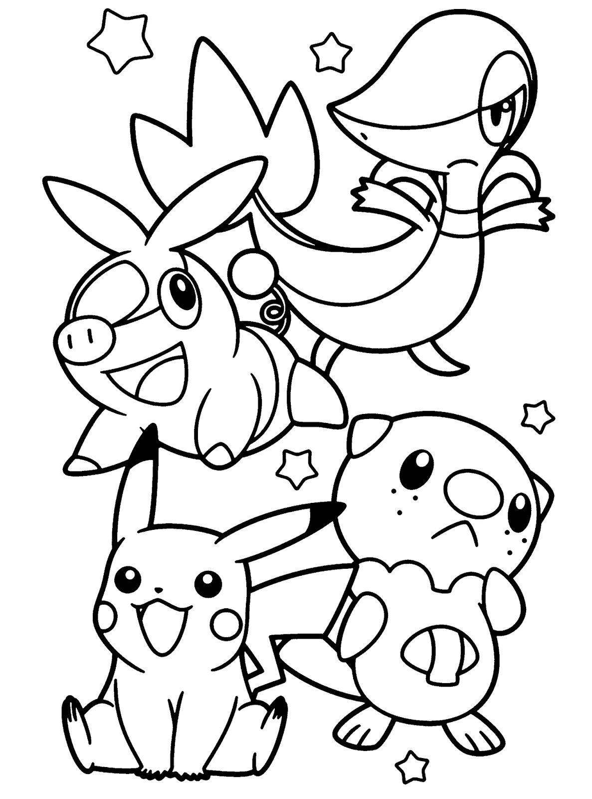 Pokemon Colorir Pintar Imprimir Desenhos Molde Risco Desenho