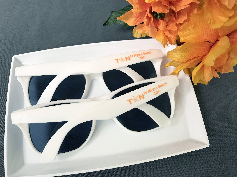 50 Personalized Sun Glasses Beach Wedding Favors - Sunglasses ...