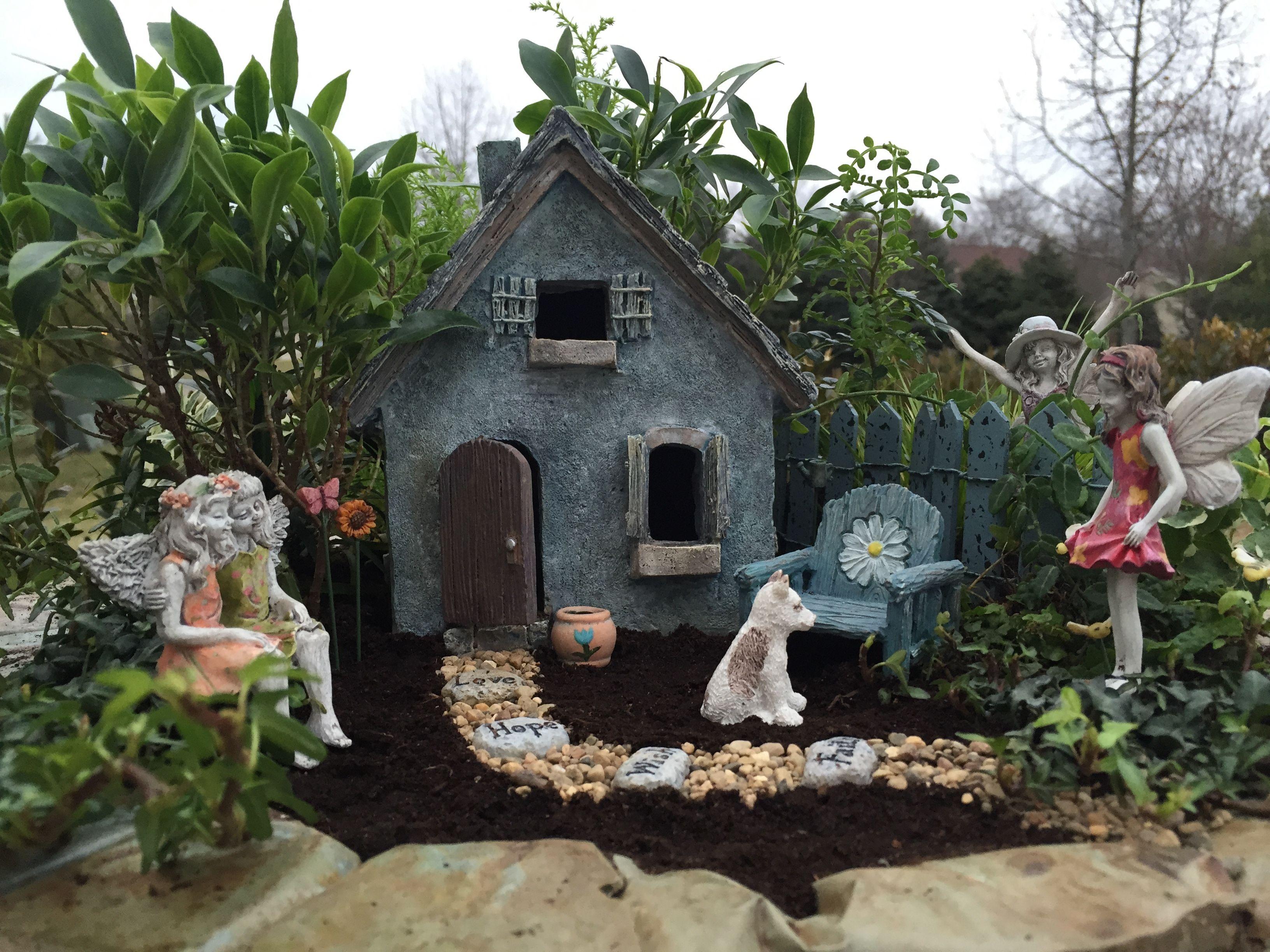 Another Day In Fairy Garden Land Fairy Garden Miniature Garden