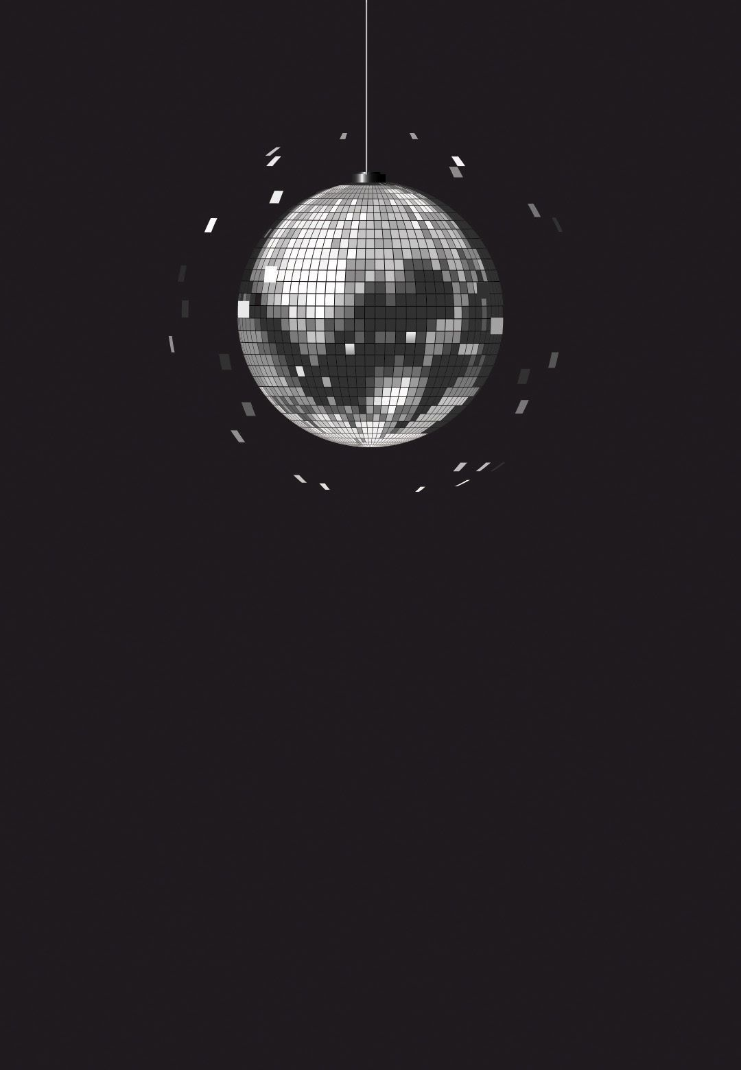 Photo of Disco ball – Party Invitation Template (Free) | Greetings Island