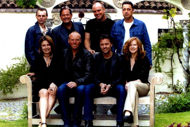 With Go West, Heaven 17, Paul Young and Carol Decker (T'pau), 2001.