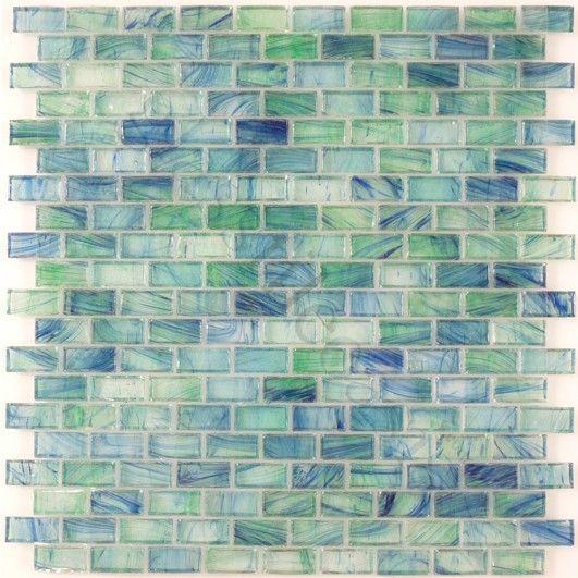 Sea Gl Mosaic Tile Bathroom Inspiration Sheet Size 12 X 34 58 1 14