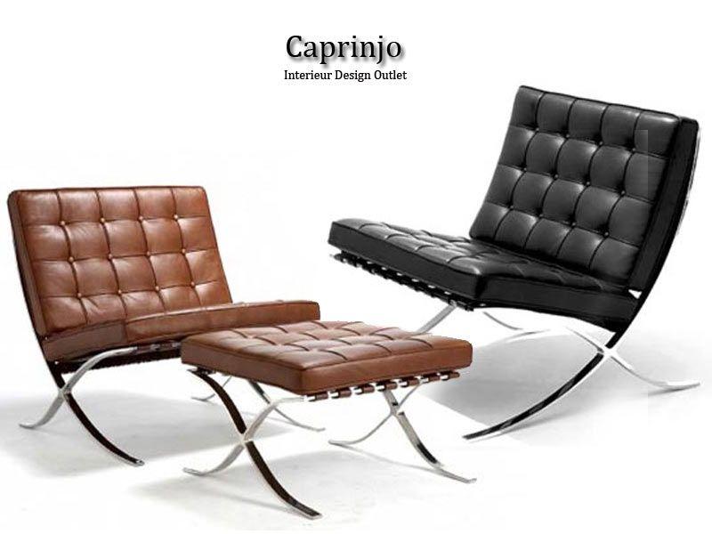 Caprinjo Design Meubels Maastricht.Barcelona Chair 425 Euro Barcelona Set Compleet 595 Euro It S