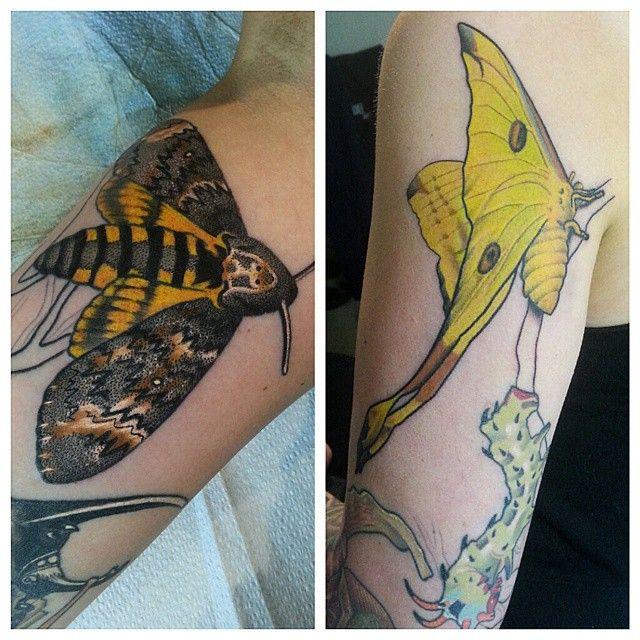 jared bent @jaredbent_tattoos Added these guys ...Instagram photo   Websta (Webstagram)