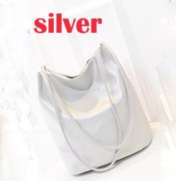 Designer Leather Handbag, Bucket Shoulder, Cross Body Bags Large Capacity