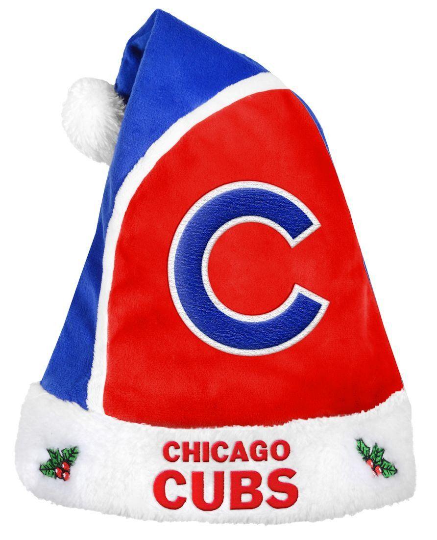 Chicago Cubs Basic Santa Hat 2015 Baseball teams logo