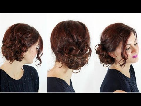 Easiest Messy Side Bun Side Bun Hairstyles Messy Hairstyles Bun Hairstyles