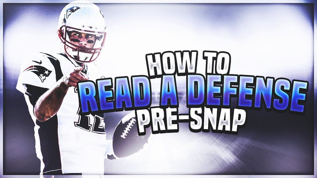 How To Read A Defense Pre Snap Like A Pro Madden 19 Youtube Defense Madden Reading
