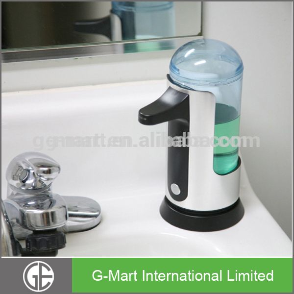 Fashionable Standing Auto Hand Sanitizer Dispenser Plastic Liquid