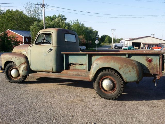 1950 Chevy Pickup Chevrolet Truck Low Patina Rat Rod Project Iowa 47 48 49 50 51 For Sale Chevrolet Other Pickups 1950 For Sale In Hudson Iowa United States