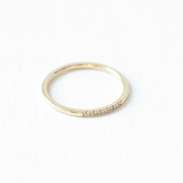Photo of Oh Bracelet Berlin – Stacking ring VI made of 925 sterling silver gold-plated incl. Gift box | Avocadostore