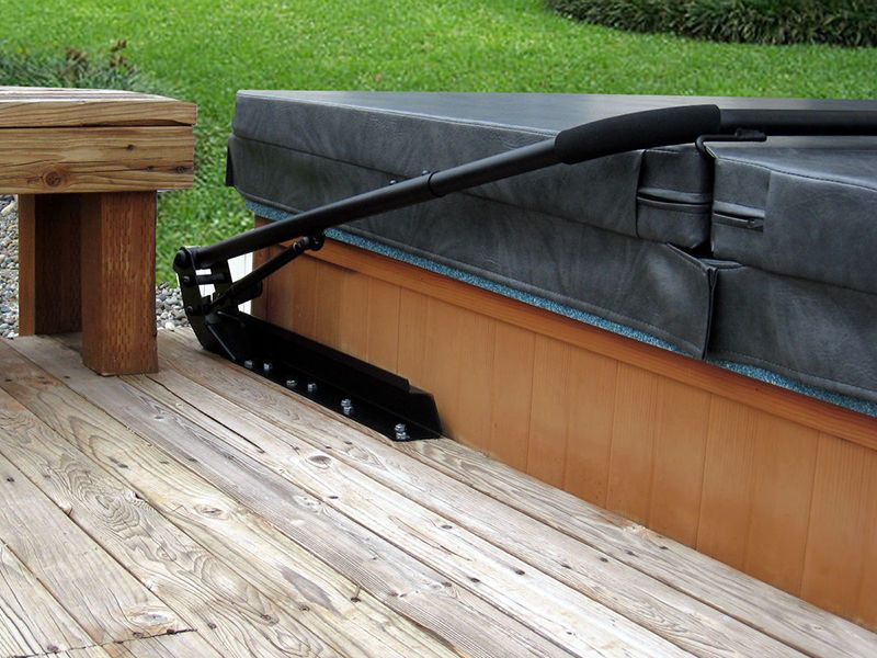 How to Build a Hot Tub Cover Lift in 2018 | Backyard Ideas ...