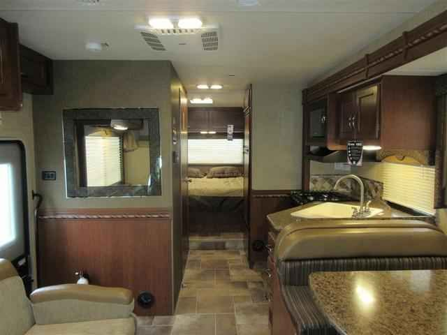 2016 New Thor Motor Coach Freedom Elite 28H Class C in Washington WA.Recreational Vehicle, rv, 2016 THOR MOTOR COACH Freedom Elite28H, Indigo Exterior, Interior-Milano Brown II, Olympic Cherry Cabinetry, State Seal,