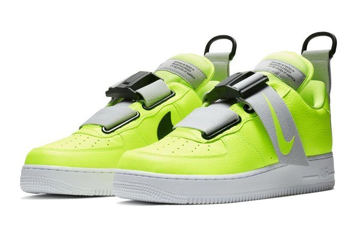 39fae9f85b9 Official Look at Nike Air Force 1 Low Utility  Volt