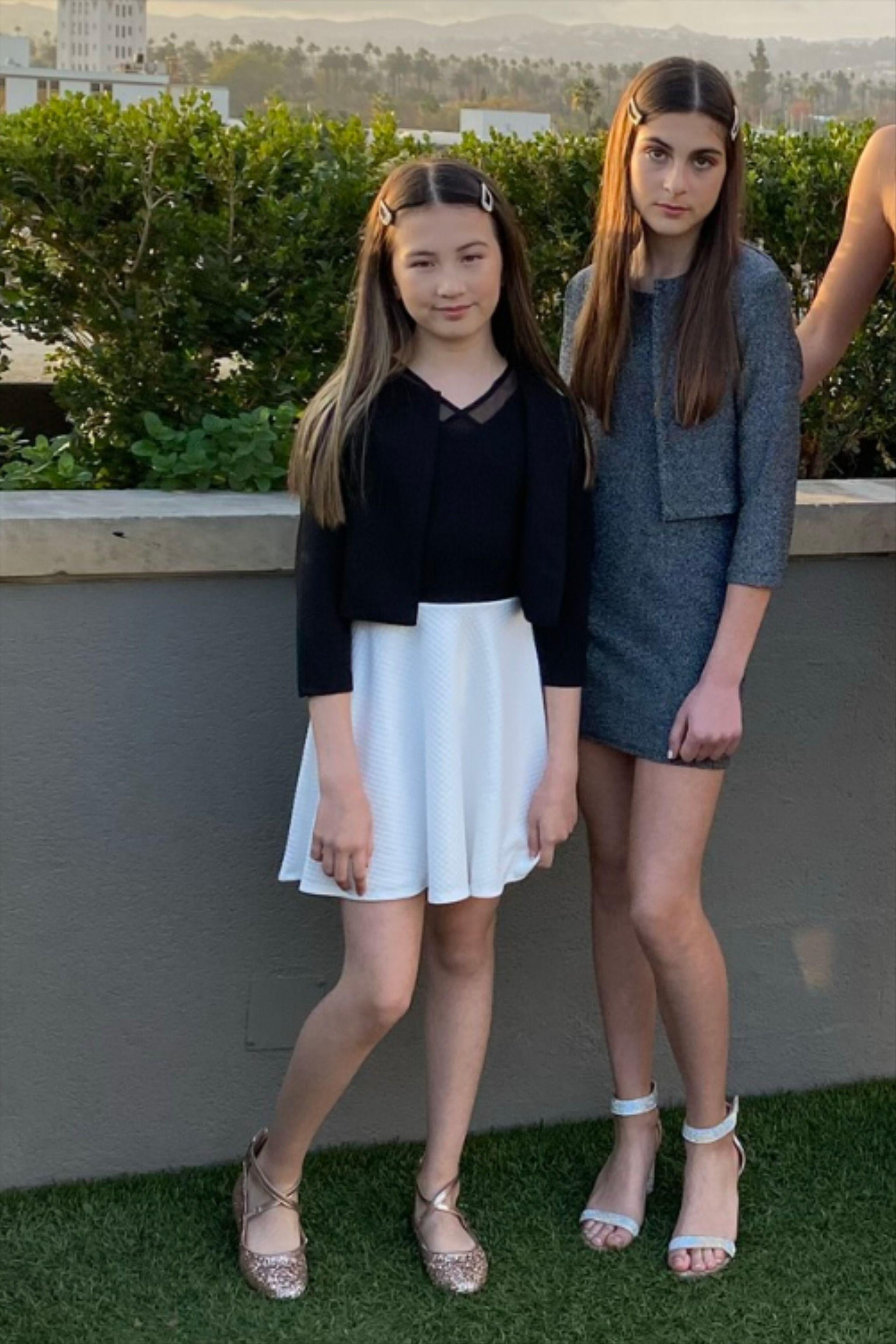 Sally Miller Girls Tie Back Top in Blush