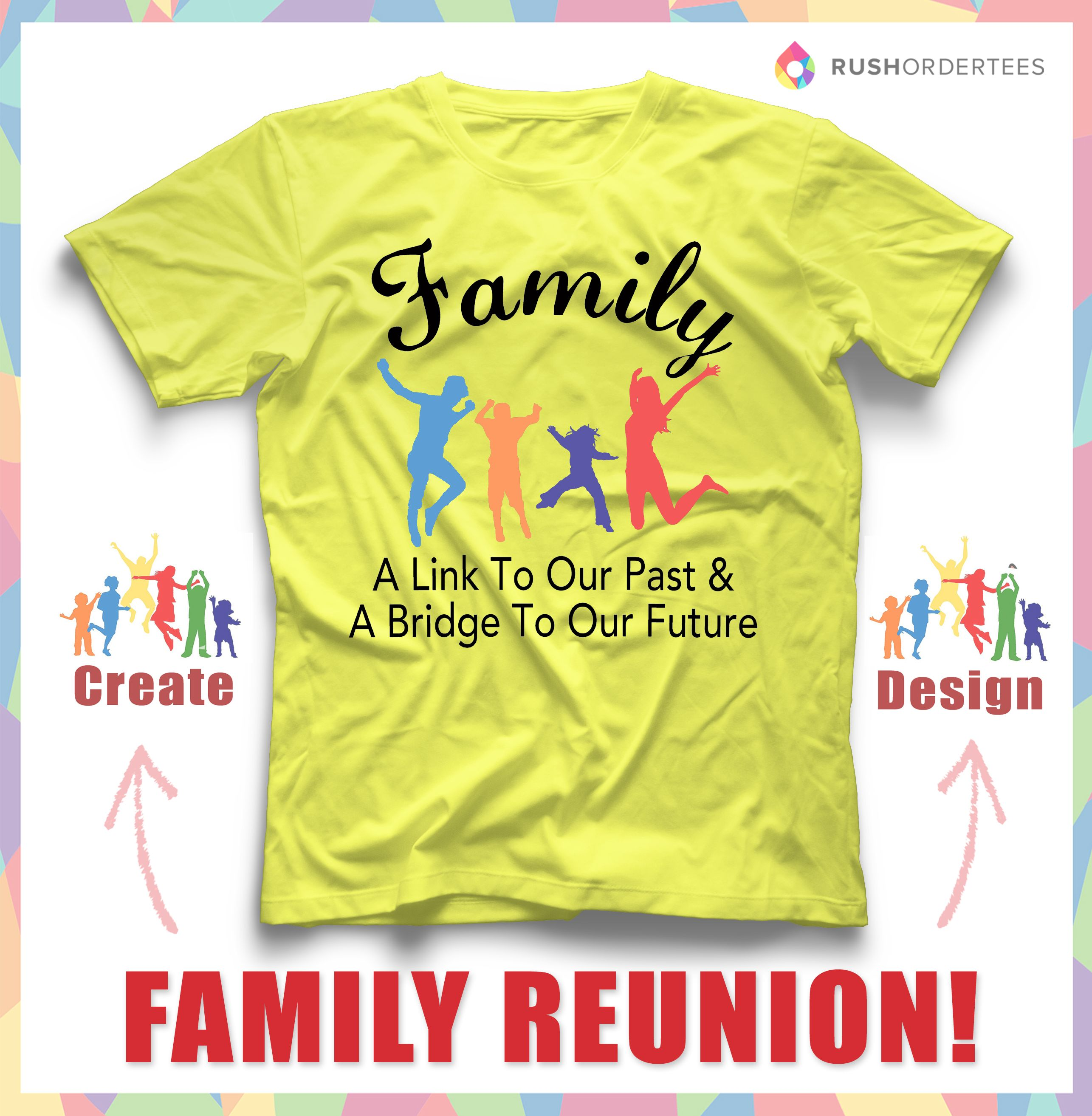 family reunion custom t shirt design idea create an awesome custom design for your