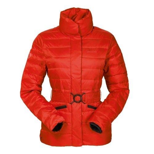 Musto Quilted Snug Red Jacket | Ladies Clothing | Millbry Hill - A ...