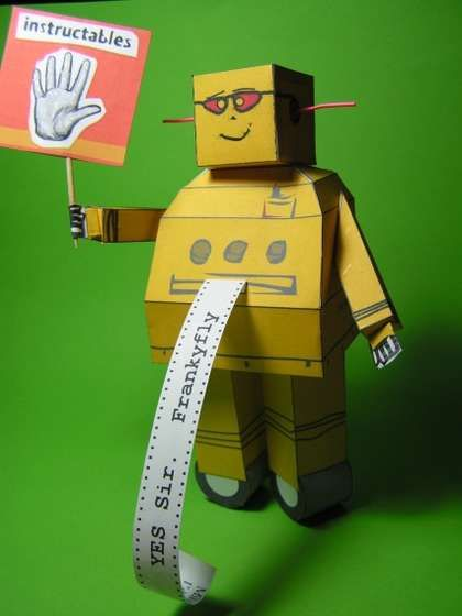 robot craft ideas paper robot by frankyfly robot craft and diy paper 2843