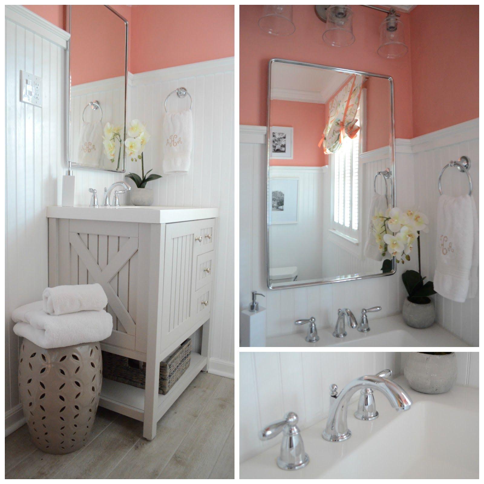 The Houston House: Hall Bathroom: Sources   Paint colors   Pinterest ...