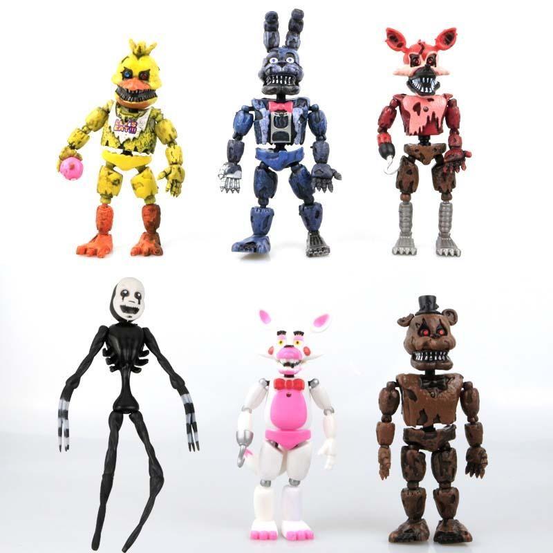 "CINQ NIGHTS AT FREDDY/'S 6/"" articulé Funko Figurine Freddy construire printemps"
