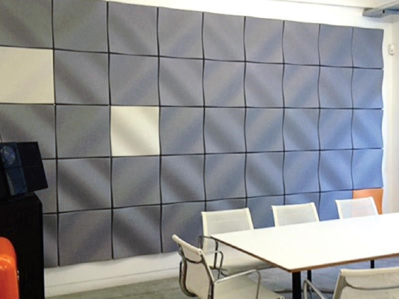 Guest Post 23 Decorative Acoustic Panel Ideas D W Arthur Associates Architecture In 2020 Acoustic Panels Tin Walls Interior Walls