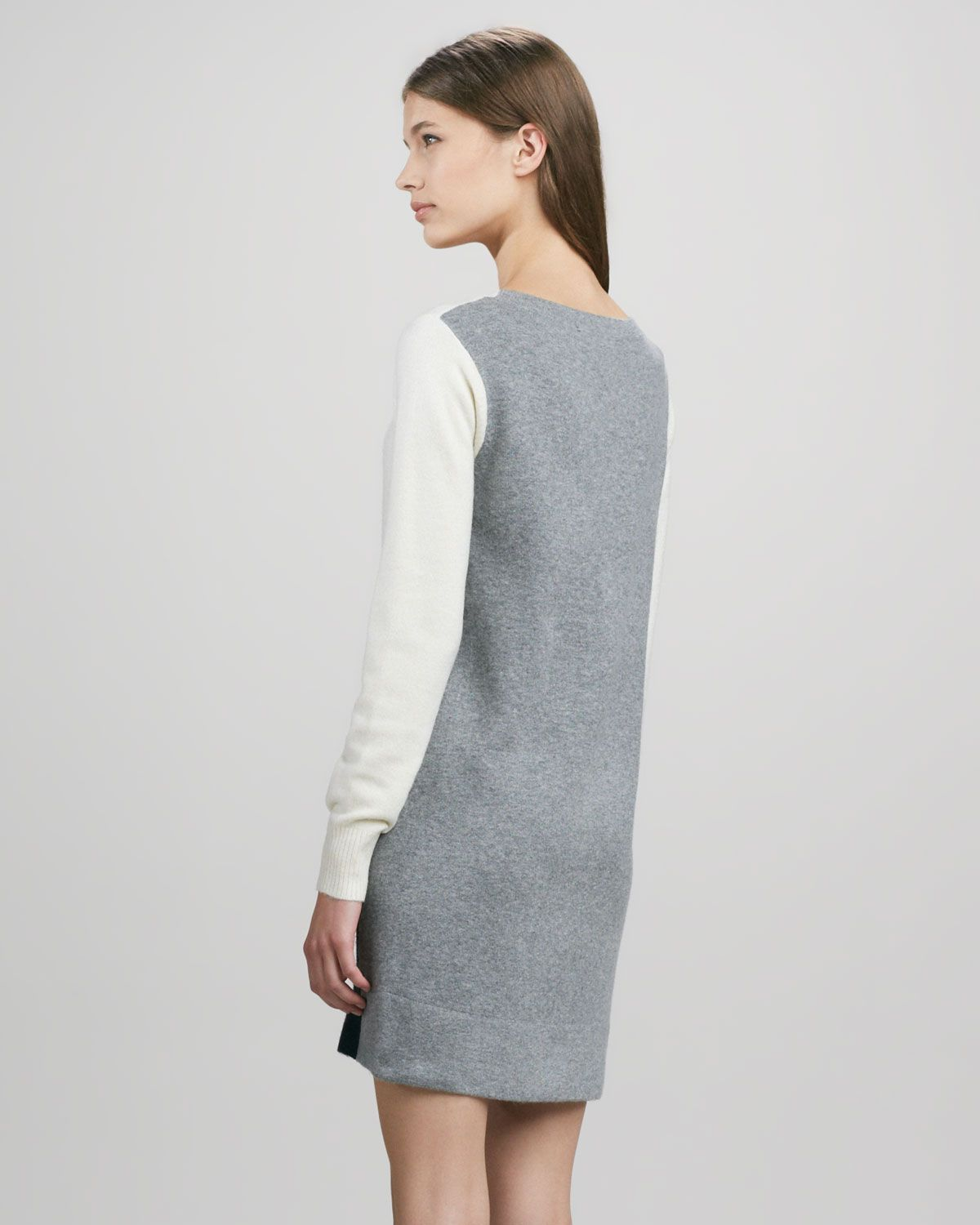 french connection marie long sleeve keyhole dress   Luxury Hotels
