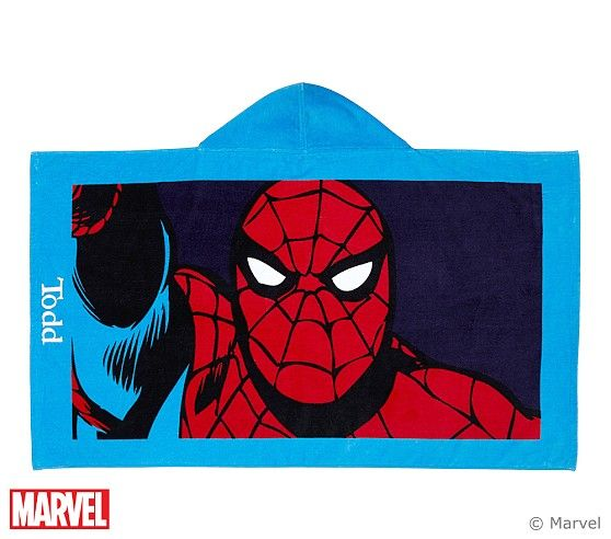 Spider-Man™ Beach Wrap | Pottery Barn Kids (With images ...