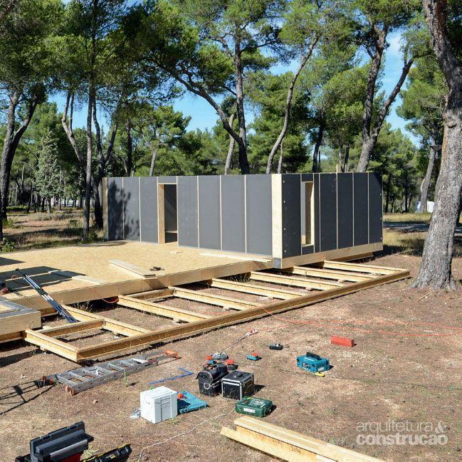Casa de 150 m² pronta em quatro dias - Casa
