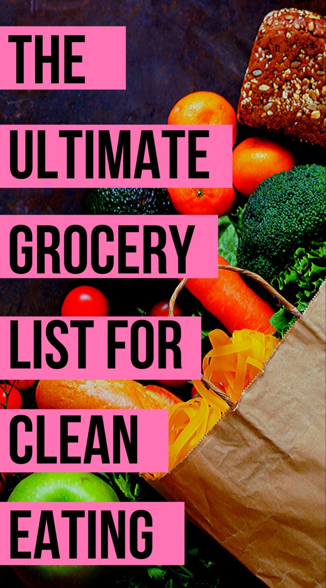 Healthy Eating: Clean Eating for Weight Loss