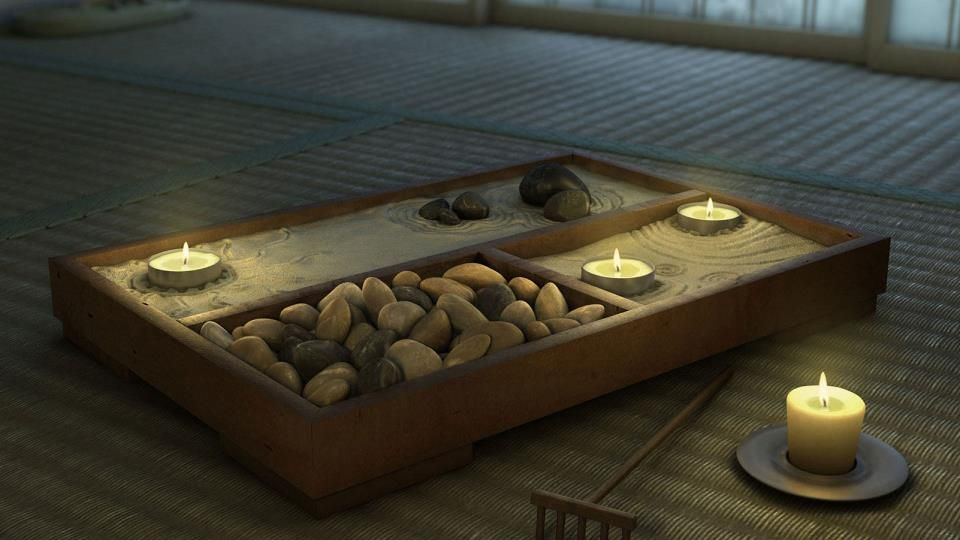 Looks like a portable zen garden arquitectura for Balcony zen garden
