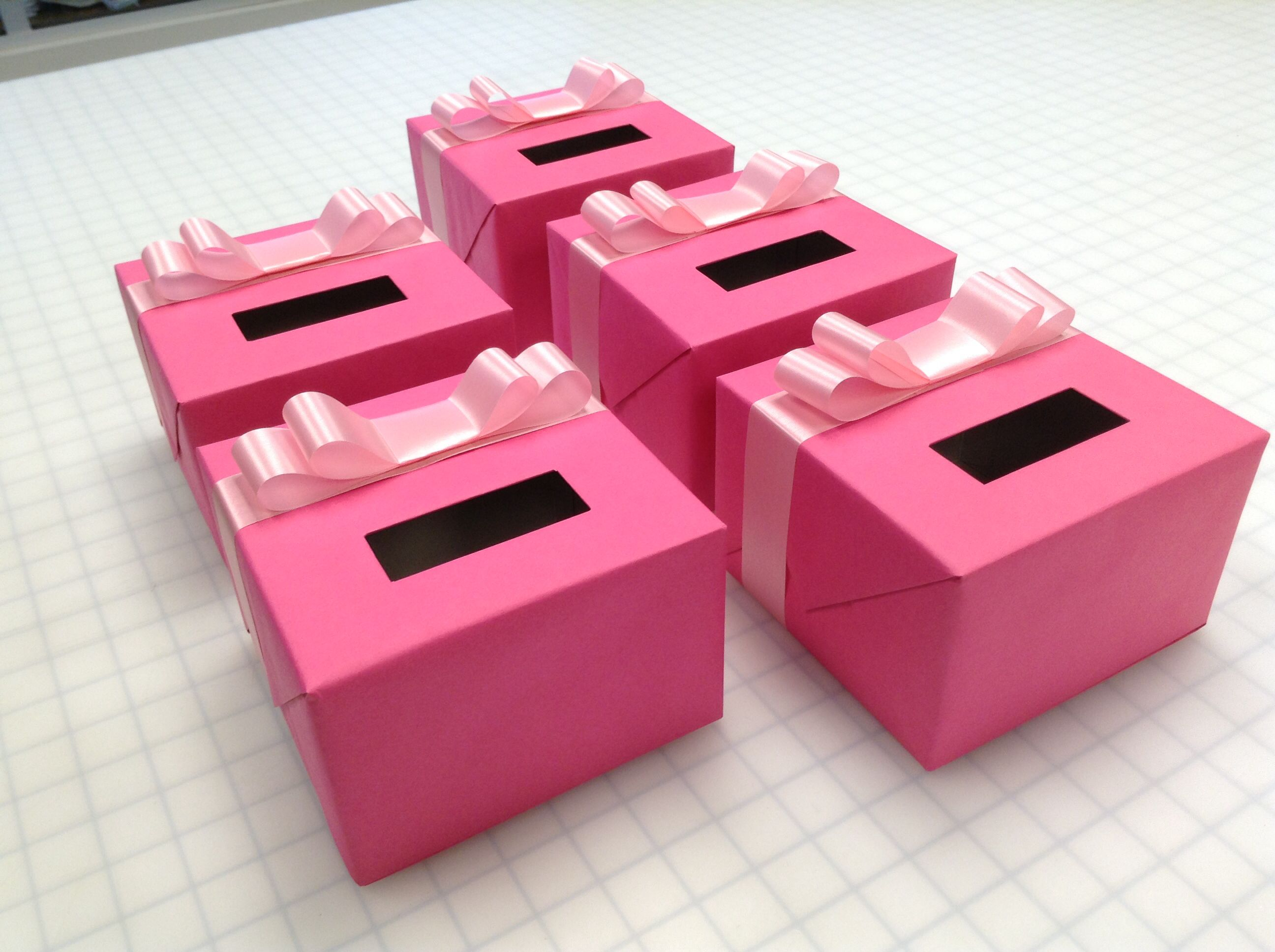 Collection Boxes For A Charity Event Creatively Wrapped Lisa S Gift