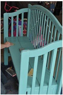What To Do With An Old Crib 15 Great Ideas For Repurposing Baby Cribs Baby Coupons And Stuff Making A Bench Old Cribs Crib Bench